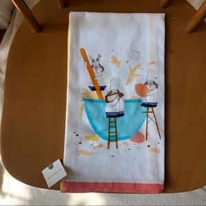 Tea towel w/cooking bunnies from Anthropologie